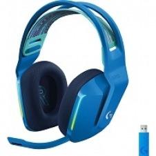 Logitech G733 LIGHTSPEED Wireless RGB Gaming Headset - Auricular - 7.1 canales - tamaño completo - 2,4 GHz - inalámbrico - azul
