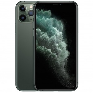 Telefono movil smartphone apple iphone 11 pro 64gb midnight green - 5.8pulgadas - dual sim - triple camara trasera