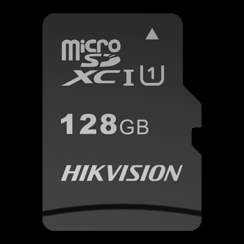 Tarjeta de memoria Hikvision - Capacidad 128 GB - Clase 10 U1 - Hasta 300 ciclos de escritura - FAT32 - Ideal para móviles, tablets, etc