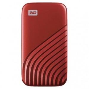 Disco Externo SSD Western Digital My Passport SSD 500GB/ USB 3.2/ Rojo