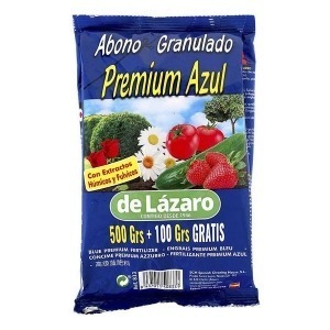 Abono orgánico De Lázaro PREMIUM AZUL (600 g)