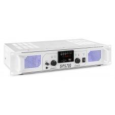 SPL 700MP3 Amplificador con LEDs azules + EQ Blanco