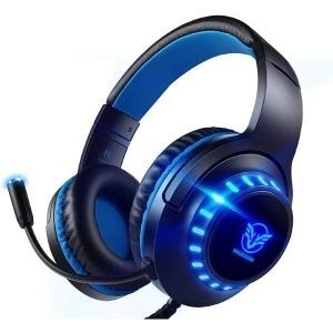 Auriculares con Micrófono Gaming Azul (Reacondicionado A+)