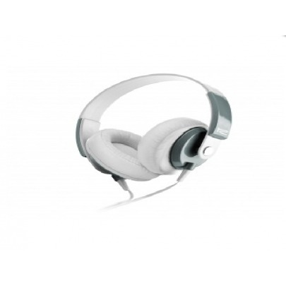 Klip Xtreme - KHS-550WH - Headset - For Cellular phone / For Phone / For Portable electronics / For Tablet - Wired - Over-the-ear-Mic