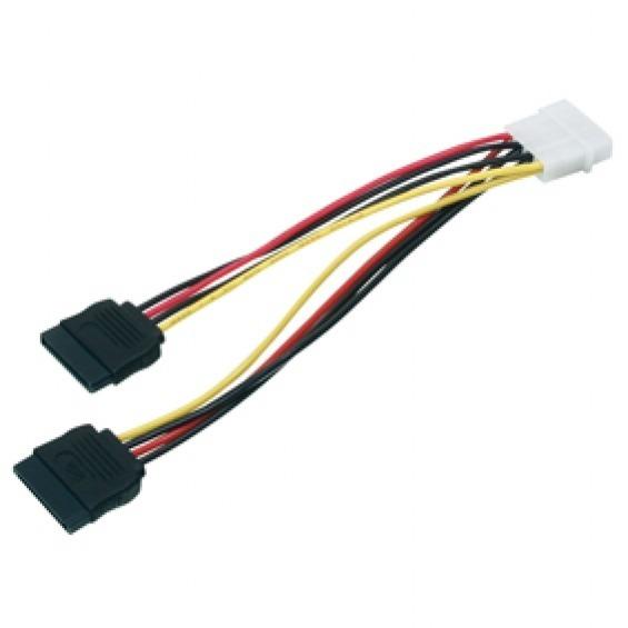 Cable de alimentación MOLEX 4P-M a 15P-H + 15P-H