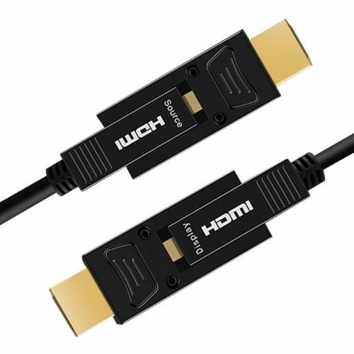 CABLE OPTICO HDMI 2.0 DE 100 METROS