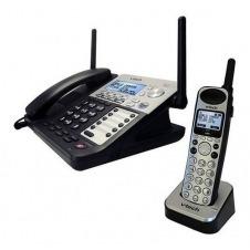 Teléfono Duo de Escritorio y 1 Inalambrico de 4 lineas MARCA VTECH