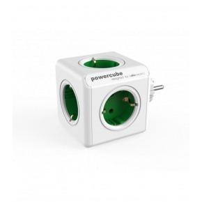 Toma enchufes PowerCube de 5 conexiones Verde