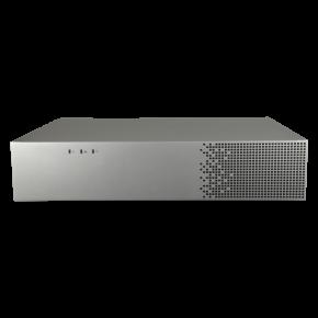 Grabador NVR para cámaras IP - 4 CH vídeo - Resolución máx 4K | Compresión H.265+ - Smart AI, análisis inteligente del comportamiento - Salida HDMI 4K y VGA (independientes) - 1HDD | Alarmas