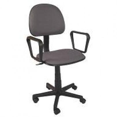 Computer Chair w/ Arm Rest (Black)