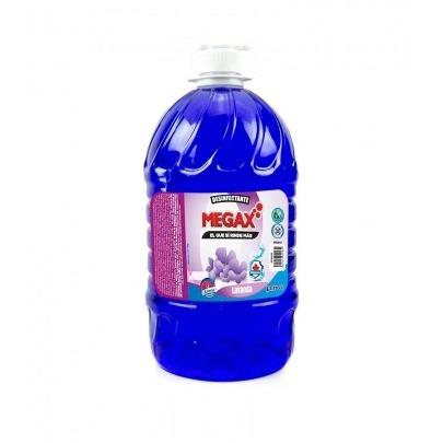 Desinfectante para Pisos con Aroma a Lavanda Marca Megax