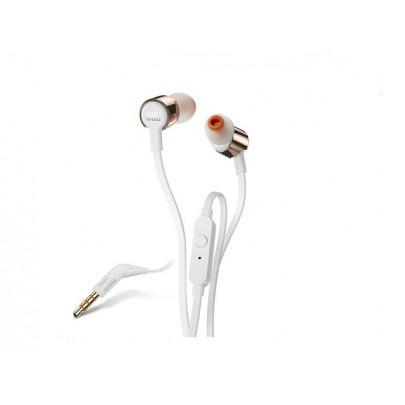 JBL T210 - Earphones with mic - in-ear - wired - 3.5 mm jack - gray