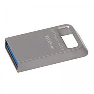 Memoria USB y Micro USB Kingston DTMC3/128GB USB 3.0/3.1 128 GB Plata