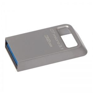 Memoria USB y Micro USB Kingston DTMC3/32GB USB 3.0/3.1 32 GB Plata