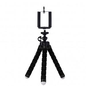 Mini Trípode Flexible Smartphone Negro