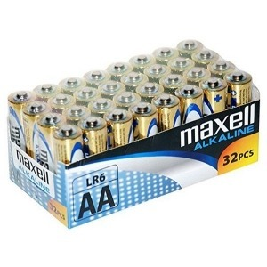 Pilas Alcalinas Maxell MXBLR06P32 LR06 AA 1.5V (32 pcs)