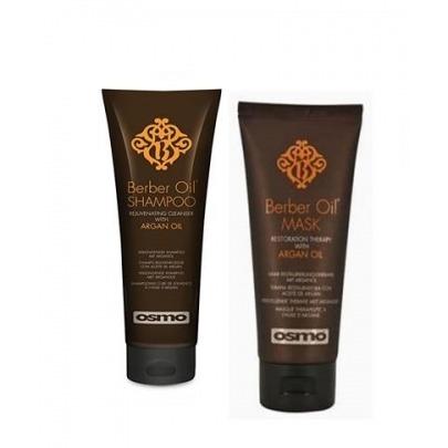 Berber Oil Shampoo/Mask . SHAMPOO Y MASCARILLA REJUVENECEDORA CON ACEITE DE ARGÁN OSMO