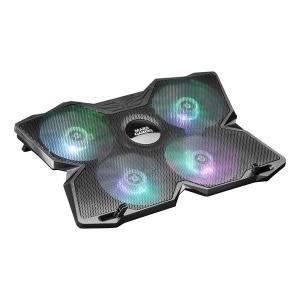 Base de Refrigeración Gaming para Portátil Mars Gaming MNBC3 RGB Negro