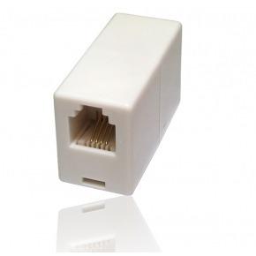 Empalme Cable Telefónico RJ11 H/H