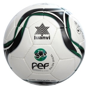 Balón de Fútbol Sala Luanvi Fef Zagal Fs PVC (62 cm)