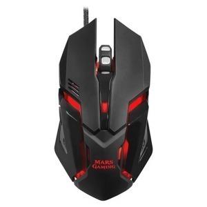 Ratón Gaming Mars Gaming MRM0 4000 DPI Negro