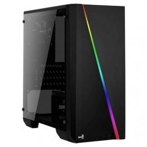 CAJA SEMITORRE AEROCOOL CYLONMINI NEGRA - 1*USB 3.0/1*USB 2.0 - HD AUDIO+MIC - MICROATX/MINI ATX