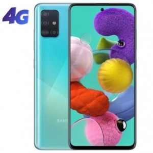 "SMARTPHONE MÓVIL SAMSUNG GALAXY A51 BLUE - 6.5""/16.5CM - CAM (48+12+5+5)/32MP - OC - 128GB - 4GB RAM - ANDROID - 4G - DUAL SIM - BAT 4000MAH."