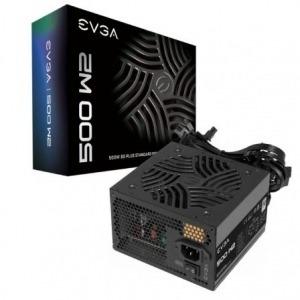 Fuente de Alimentación EVGA 500 W2/ 500W/ Ventilador 12cm/ 80 Plus