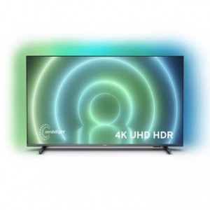 "Televisor Philips 55PUS7906 55""/ Ultra HD 4K/ Ambilight/ Smart TV/ WiFi/ Gris"