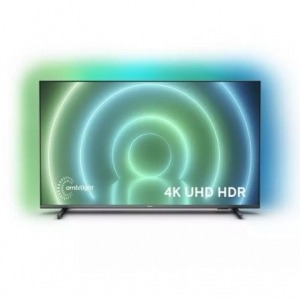 "Televisor Philips 75PUS7906 75""/ Ultra HD 4K/ Ambilight/ Smart TV/ WiFi/ Gris"