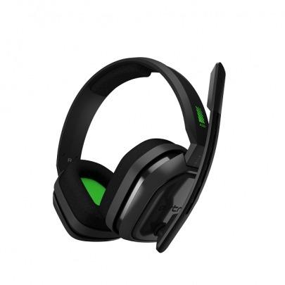 Audífonos Color Negro y Verde Marca Astro Gaming A10