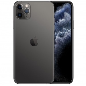 Telefono movil smartphone apple iphone 11 pro max 64gb space grey - 6.5pulgadas - dual sim - triple camara trasera