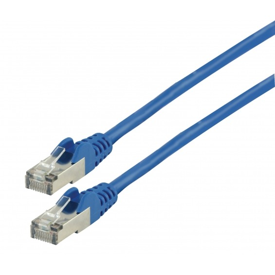 Cable Ethernet FTP CAT7 AZUL 10.00m.