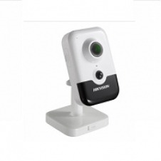 Hikvision 2 MP EXIR Fixed Cube Network Camera DS-2CD2423G0-IW - Network surveillance camera - color (Day&Night) - 2 MP - 1920 x 1080 - M12 mount - fixed focal - audio - wireless - Wi-Fi - LAN 10/100 -
