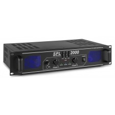 SkyTec, amplificador 2x 1000W con ecualizador - SPL2000EQ