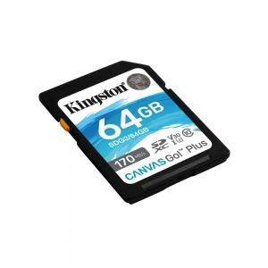 Tarjeta de Memoria SD Kingston SDG3/64GB            64GB