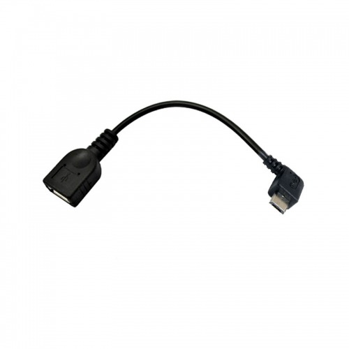 Adaptador USB A/F a Micro USB acodado M OTG