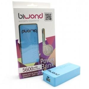 Power Bank 5600mAh Azul Biwond