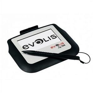 Tableta Capturadora de Firmas Evolis SIG100 Negro