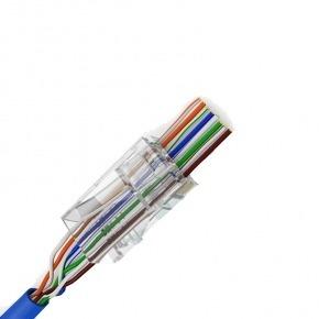100u CONECTORES UTP CAT6 FACIL