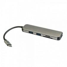HUB USB-C 3GO HUB2UCRH - 2*USB 3.0 TIPO-C - VELOCIDAD TRANSFERENCIA HASTA 5 GB/S - 1*HDMI - CONEXIÓN USB TIPO-C - PLUG AND PLAY