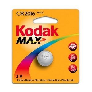 Pila de Botón de Litio Kodak KCR2016 3 V Plata