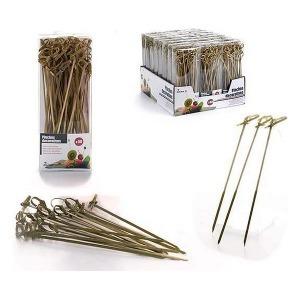 Set de Pinchos para Barbacoa Bambú (50 uds)