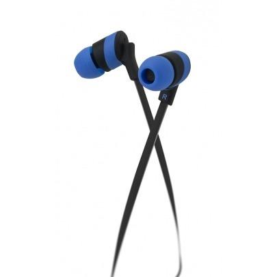 Klip Xtreme KolorBudz KHS-625BL - Earphones - in-ear - wired - 3.5 mm jack - blue