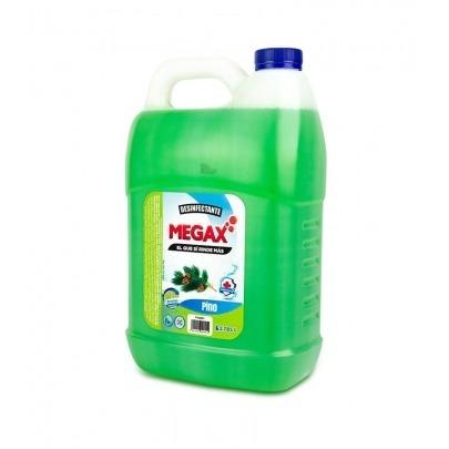 Desinfectante con Aroma a Pino Marca Megax de 1 Galón