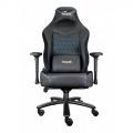 Talius silla Mamut gaming negra/azul 4D, Frog, base metal, ruedas nylon, hasta 170kg