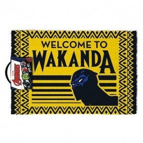 Felpudo pyramid marvel welcome to wakanda pantera negra black panther