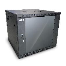 Nexxt Solutions SKD - Armario - instalable en pared - negro, RAL 9005 - 12U - 19