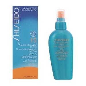 Spray Protector Solar Oil-Free Shiseido Spf 15 (150 ml)