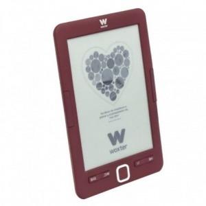"""Libro electrónico Ebook Woxter Scriba 195/ 6""""/ tinta electrónica/ Rojo"""